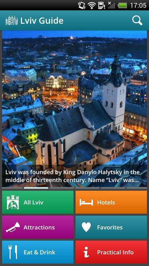 Aplikacja o Lwowie